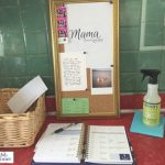 Keep Organized With A Back To School Mom Command Center