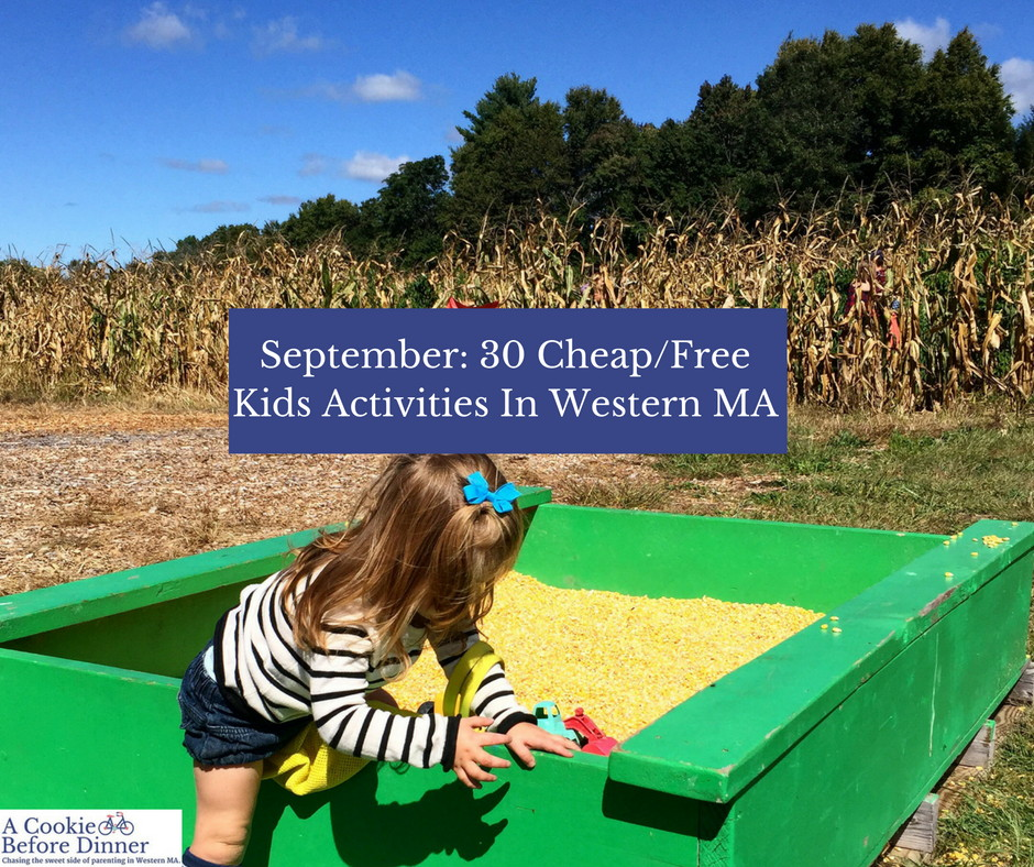 30 Cheap/Free Things To Do With Kids In Western MA This