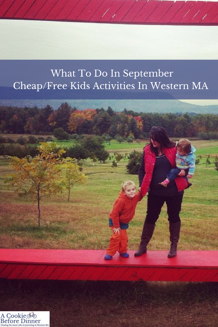 September Cheap Free Things to Do in Western MA