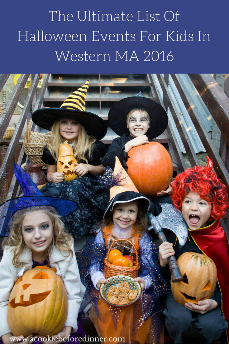 Wondering about where to trick or treat in Western MA or looking for a list of Halloween Events In Western MA for kids? I've got everything you're looking for right here!
