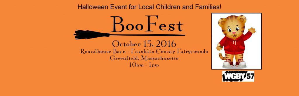 Boo Fest is just one of the few great Halloween Events for kids in Western MA 2016!