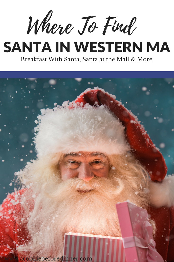 Looking for places to visit Santa in Massachusetts? Here is a listing of all of the Santa events in Western MA!