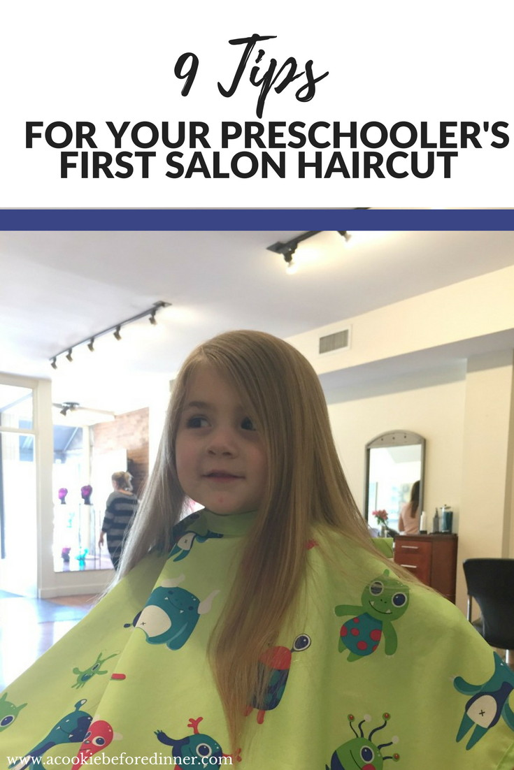 Rock your preschooler's first salon haircut with these great tips.