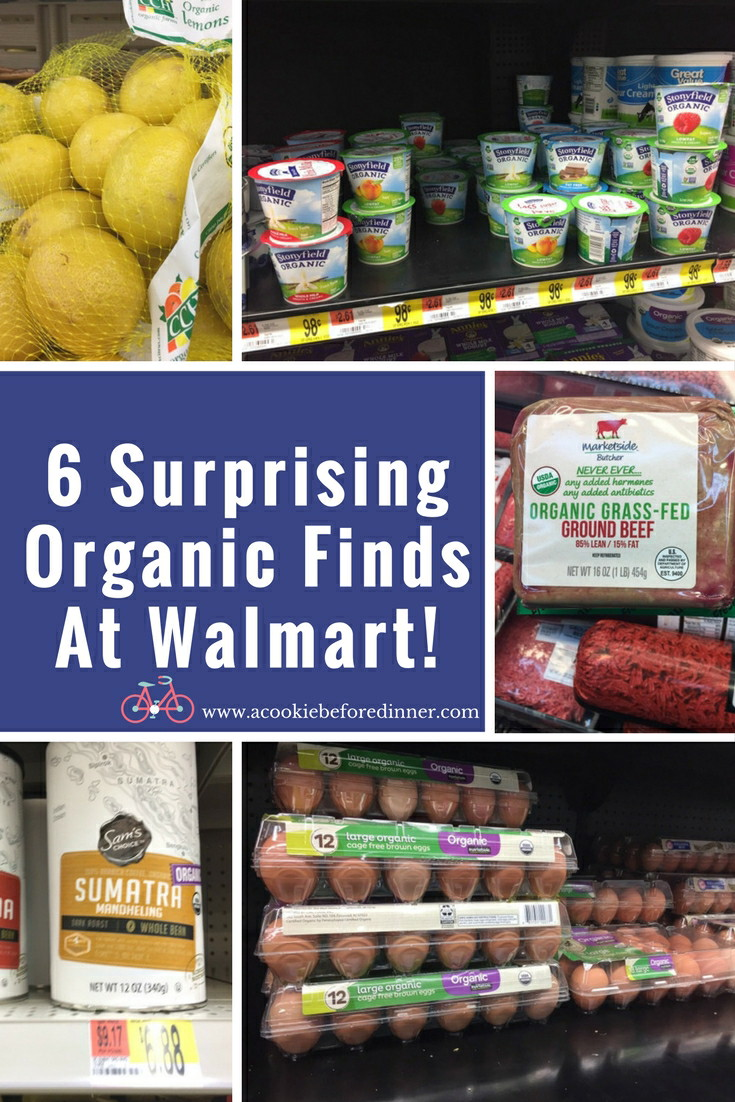How to save money on organic groceries. 6 Surprising Organic Finds at Walmart!