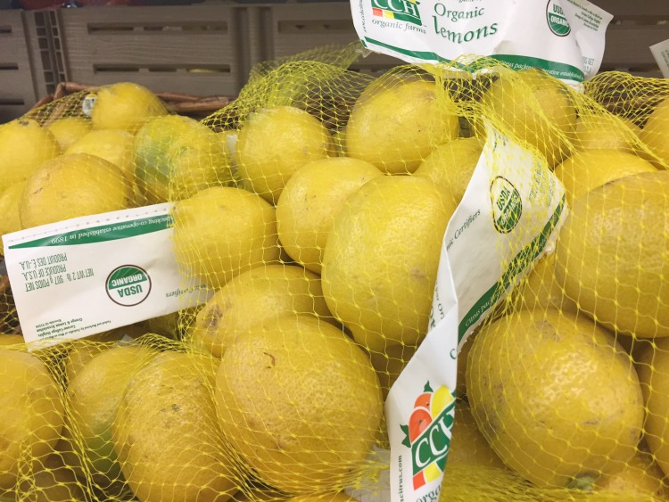 organic finds at walmart lemons