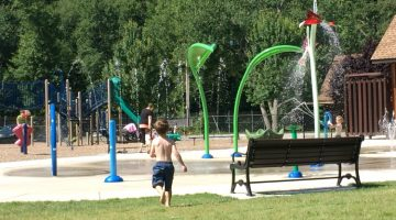 Splash Pads in the Pioneer Valley