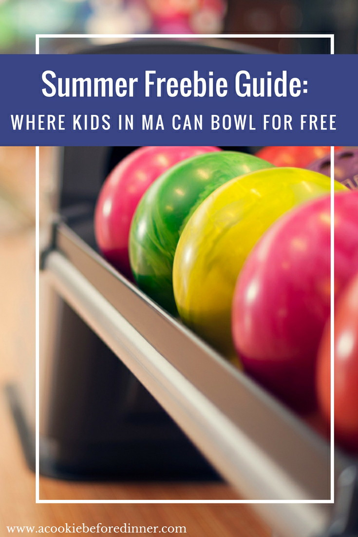 Kids Bowl Free in MA: You kids will love bowling for free this summer! Here's a look at all of the bowling alley's that are participating. Bowling is a great way to have a screen free summer for kids!