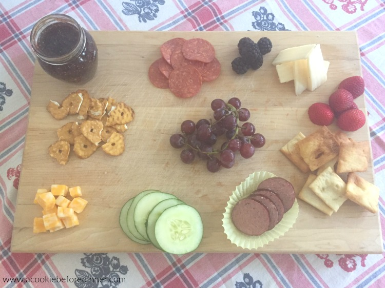 Making a charcuterie board for kids is a great way to get them to try new foods!
