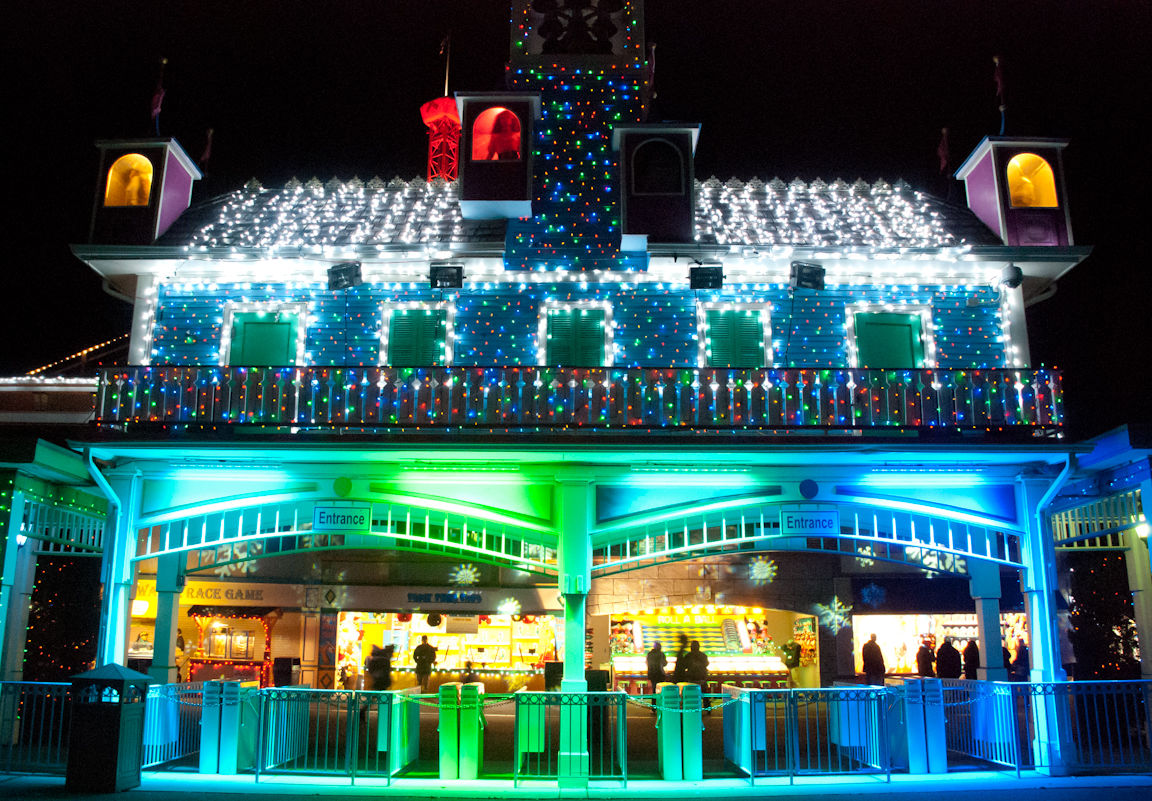 Holiday Lights at Lake Compounce