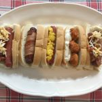 Simple Game Day Chicken And Hot Dog Bar