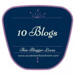 10 Blogs This Blogger Loves