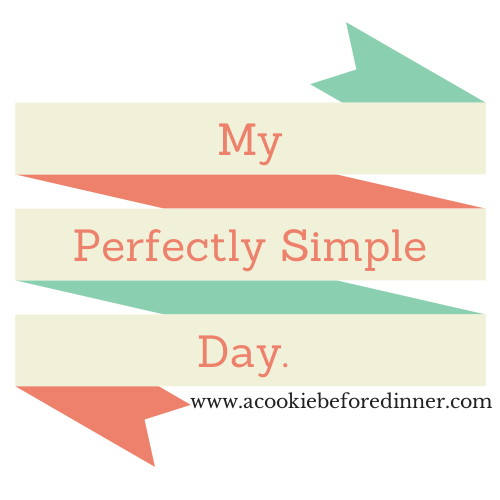 A simply perfect day.