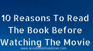 Book First, Then Movie