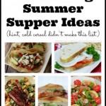 10 Amazing Summer Supper Ideas