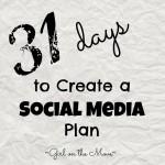 Blogger Rehab- Create A Social Media Plan