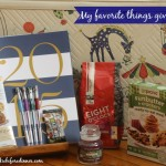 Raindrops on Roses (A super sized favorite things giveaway)