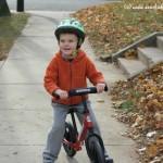 On Teaching Fundamentals- A Strider Balance Bike Review