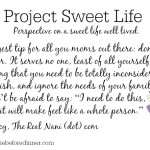 Project Sweet Life: Nancy From The Real Nani