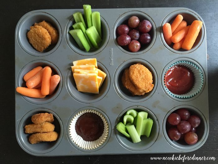 Easy Muffin Tin Lunch