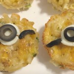 Minions Mac and Cheese Cups