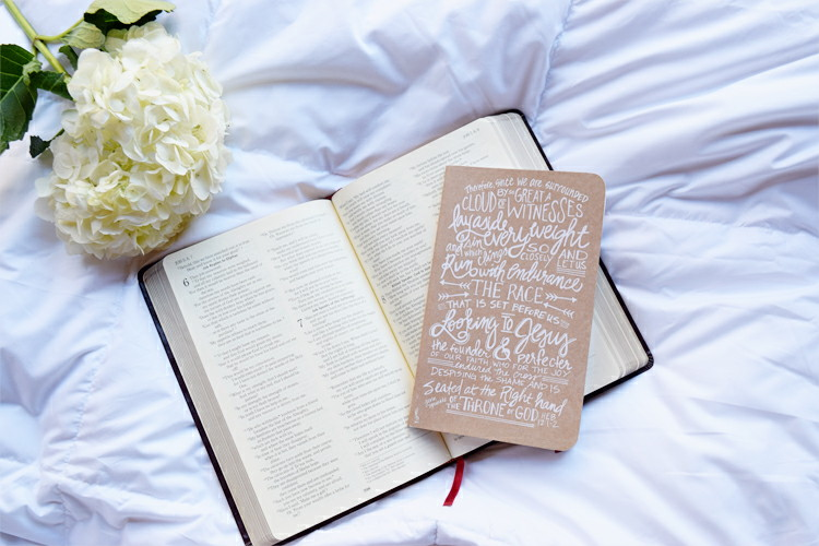 February Scripture Writing Plan and February Bible Journal Prompts