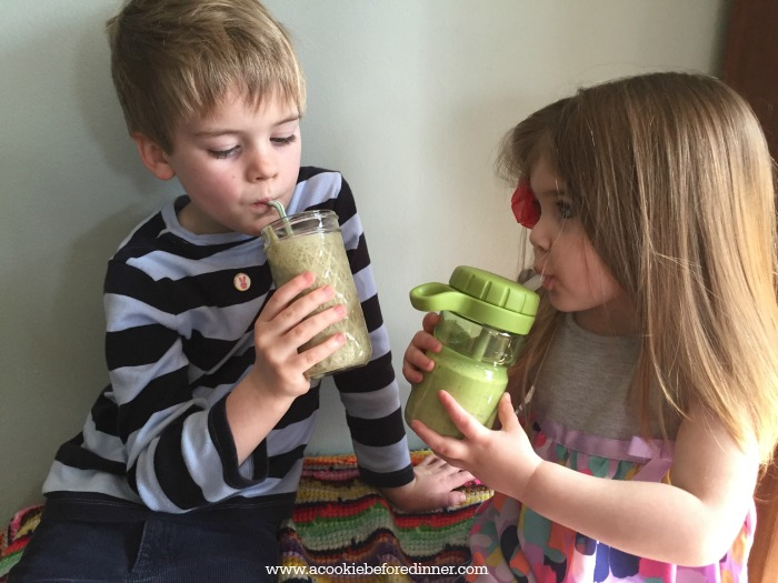 Finally a green smoothie recipe my toddler loves!