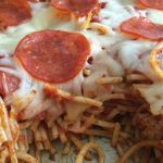 Baked Pepperoni Spaghetti Recipe