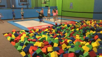 Bounce Trampoline Sports Pits