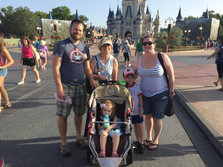 Three generations at Disney. How to keep your toddler from melting down at Walt Disney World
