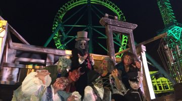 Is Six Flags New England's Fright Fest too scary for little kids? We visited and my seven year old has a few things to tell you!