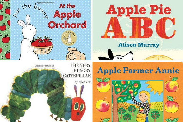 12 great apple board books for toddlers
